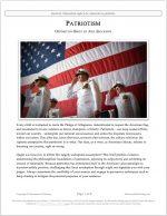 "NCFCA Lincoln-Douglas Release #28: ""Patriotism"" (OPP)"
