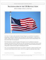 "NCFCA Lincoln-Douglas Release #30: ""The U.S. Revolution"" (OPP)"