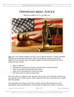 "NCFCA Lincoln-Douglas Release #37: ""Justice"" (OPP)"