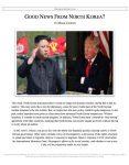 "Extemp Release #41: ""Good News from North Korea"""