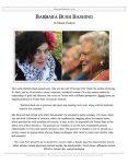 "Parli Release #41: ""Barbara Bush Bashing"""