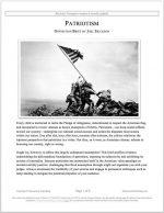 "Stoa Lincoln-Douglas Release #33: ""Patriotism"" (OPP)"