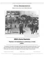"NSDA Lincoln-Douglas Release #02: ""Resolutional Analysis of Civil Disobedience"" (INFO)"