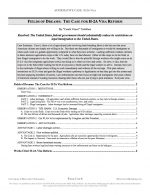 """NFHS Policy Release #12: """"H2A Reform"""" (AFF)"""