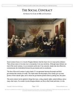 "Stoa Lincoln-Douglas Release #07: ""Social Contract"" (AFF)"