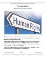 "Stoa Lincoln-Douglas Release #10: ""Human Rights"" (NEG)"