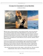 """Extemp Release #03: """"Climate Change Catastrophe"""""""