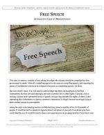 "NSDA Lincoln-Douglas Release #09: ""Free Speech"" (AFF)"