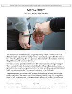 """NSDA Lincoln-Douglas Release #12: """"Media Trust"""" (NEG)"""