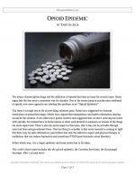 "Extemp Release #08: ""Opioid Epidemic"""