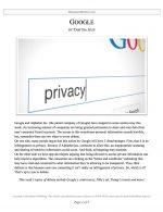 "Parli Release #08: ""Google"""