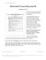 """Coaches Release #08: """"Public Forum"""""""