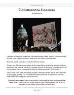 "Extemp Release #11: ""Congressional Success"""