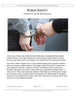 "Stoa Lincoln-Douglas Release #11: ""Public Safety"" (AFF)"