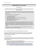 "NSDA Public Forum Release #11: ""Freedom of Navigation"" (PRO)"