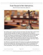 "NCFCA Lincoln-Douglas Release #13: ""Fair Trade is Not Impartial"" (NEG)"