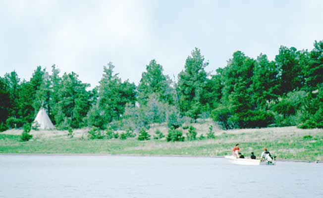The Pines Campground   Missouri River Country