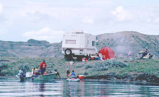 Nelson Creek Campground | Missouri River Country