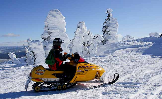 Two Top Loop Snowmobile Trail profile image