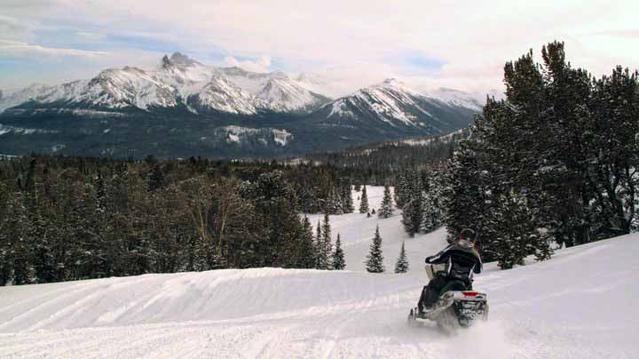 Daisy Pass/Lulu Pass Snowmobile Trail profile image