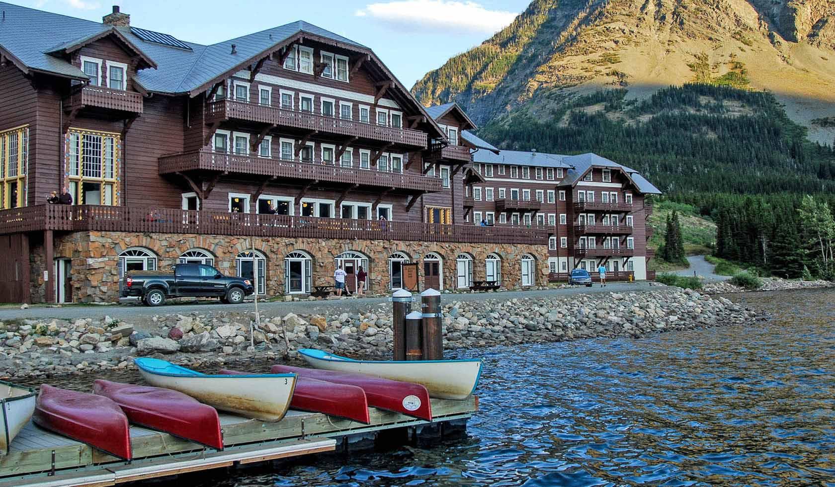 Many Glacier Hotel Many Glacier Valley