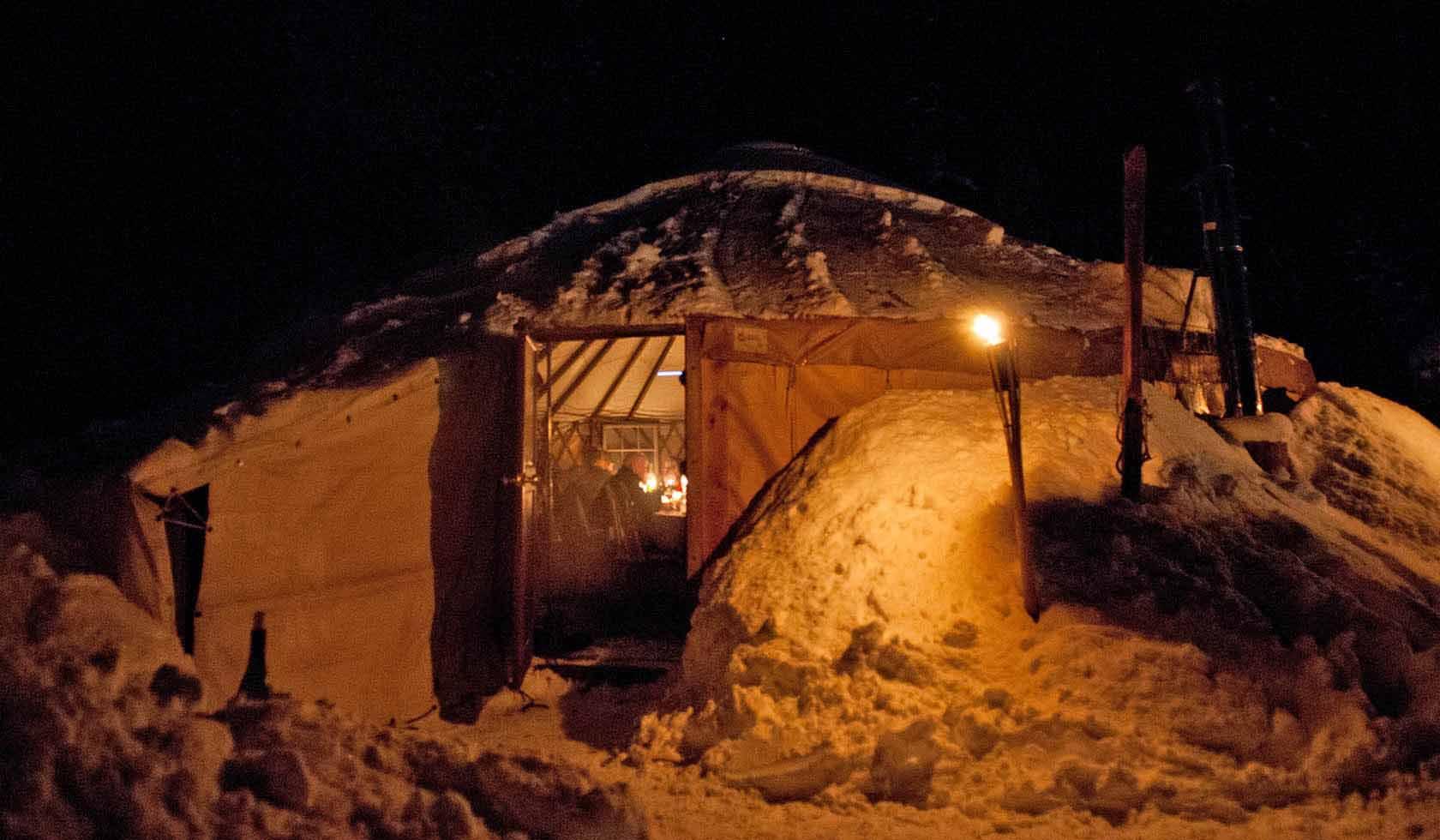 Montana Backcountry Adventures: The Montana Dinner Yurt profile image