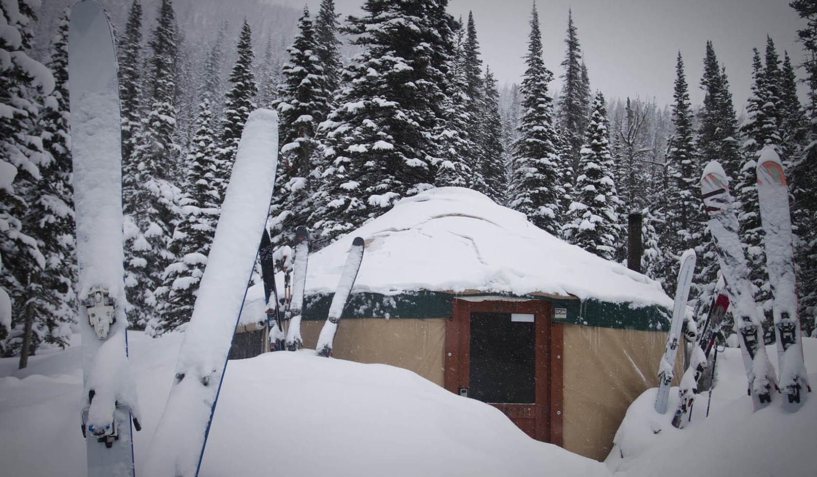 Montana Alpine Adventures: Bell Lake Yurt profile image