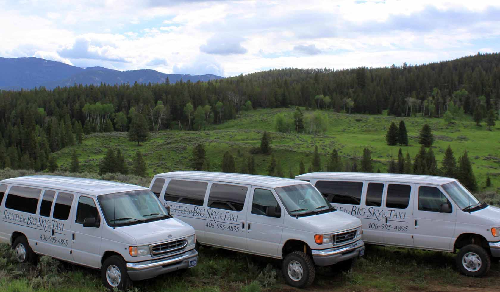 Shuttle to Big Sky and Taxi profile image