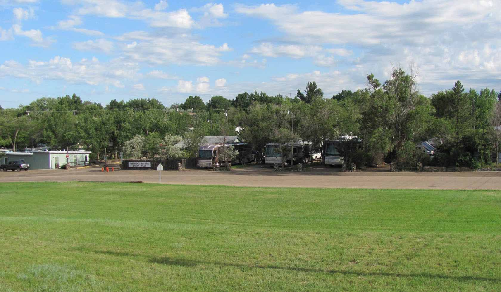 Shady Rest RV Park | Missouri River Country