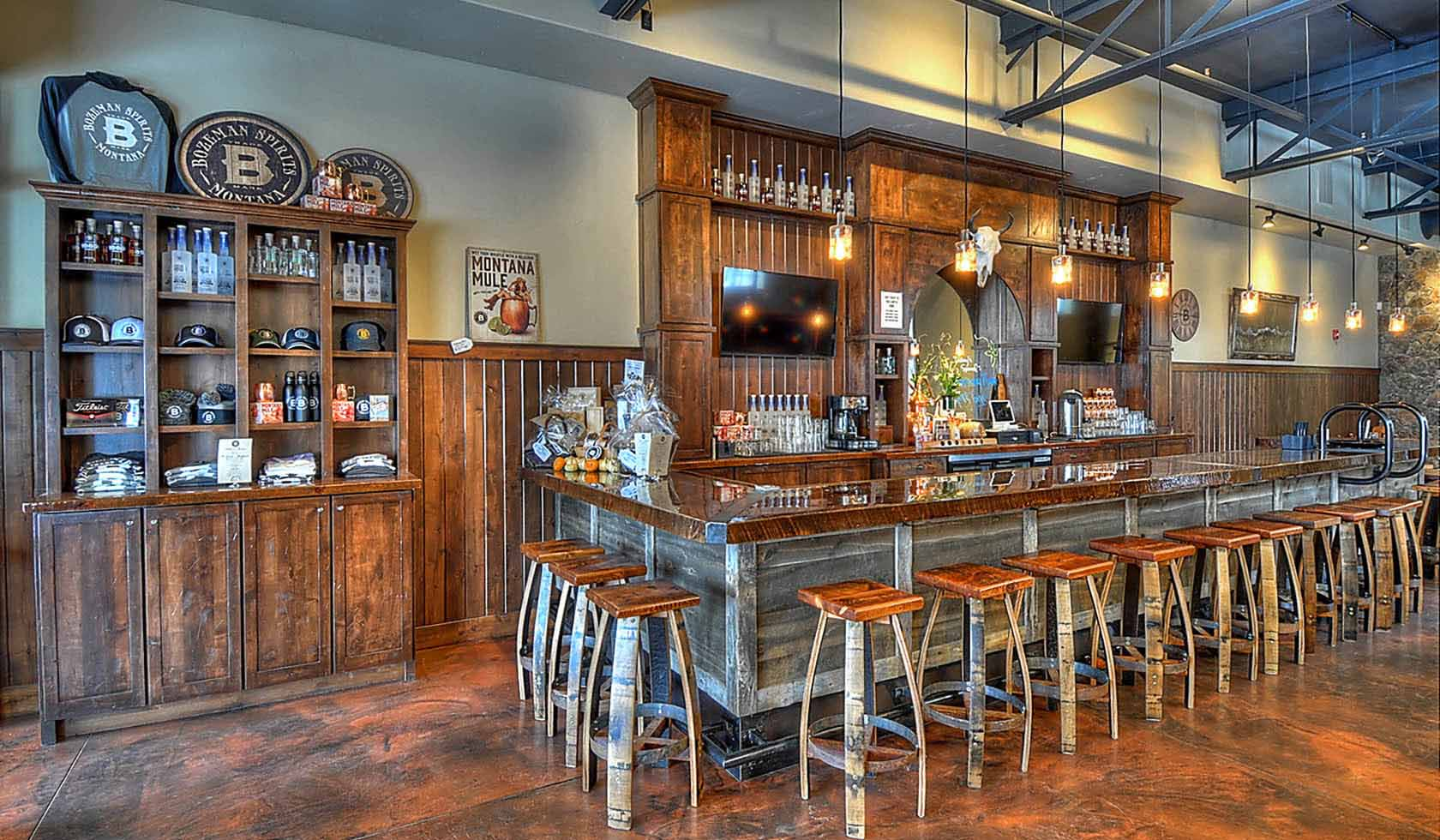 Bozeman Spirits Distillery profile image