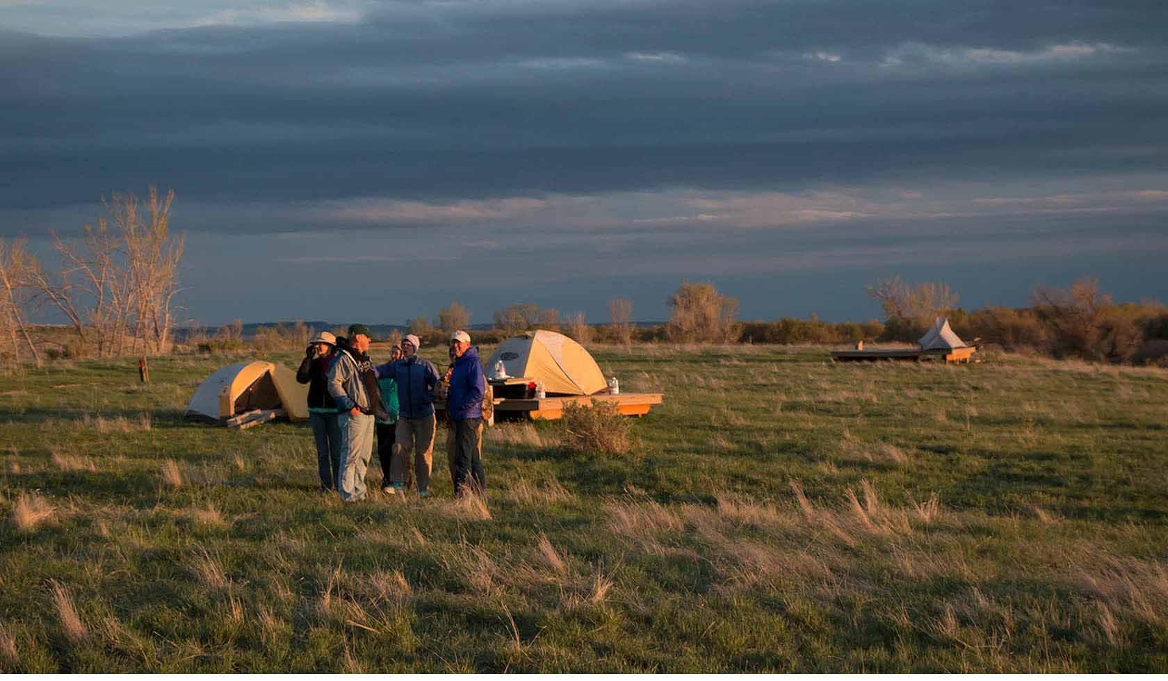 Buffalo Camp at American Prairie Reserve profile image