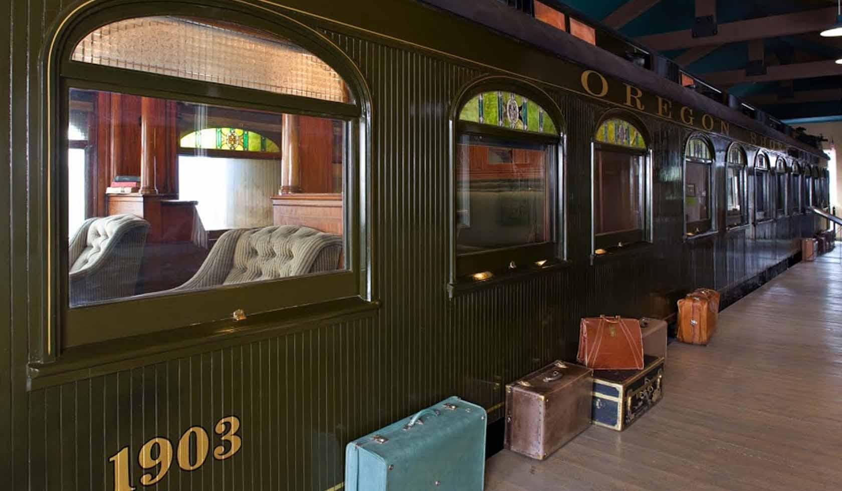 Oregon Shortline 1903 Train Car profile image