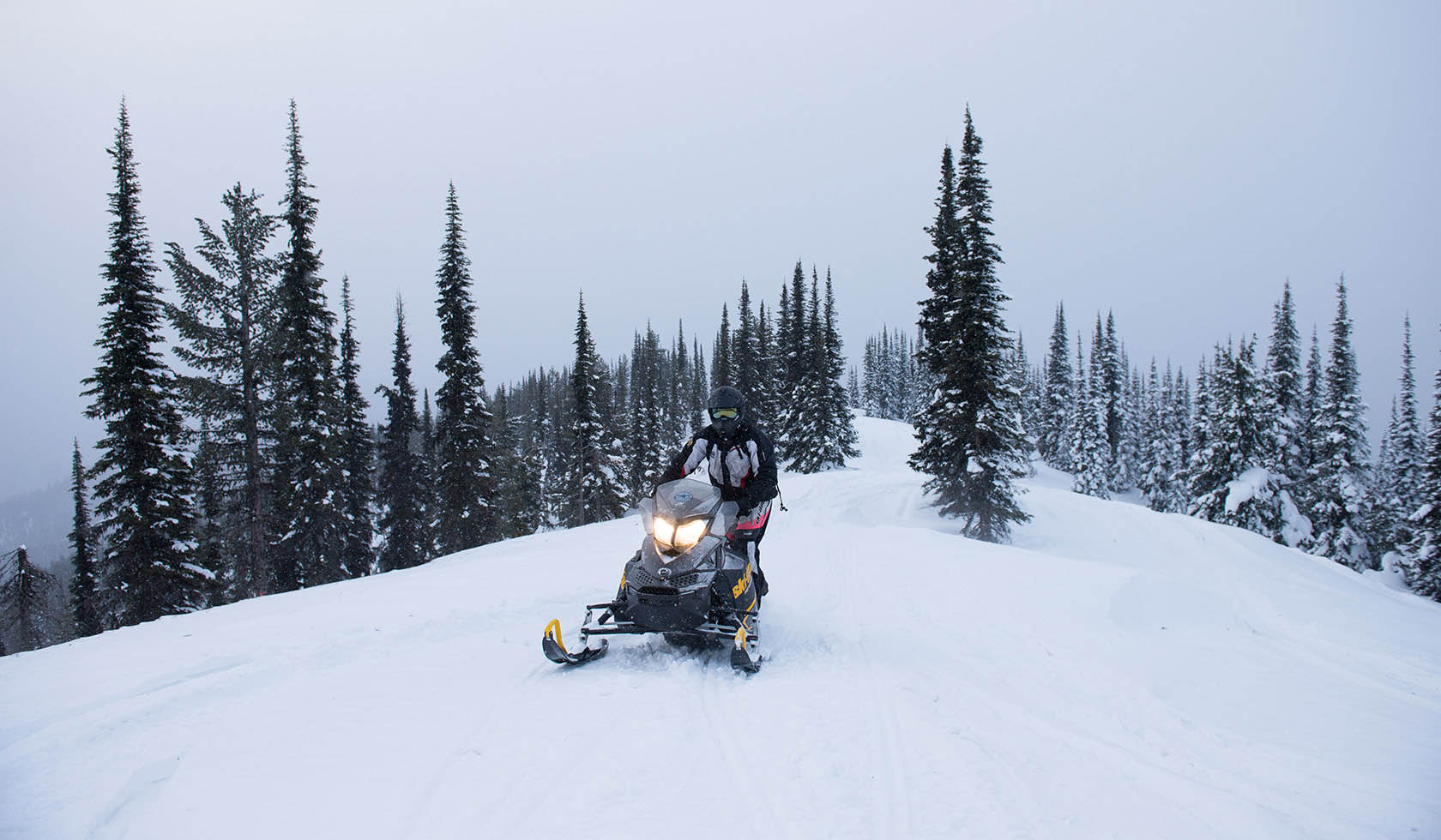 South Plateau Snowmobile Trail profile image