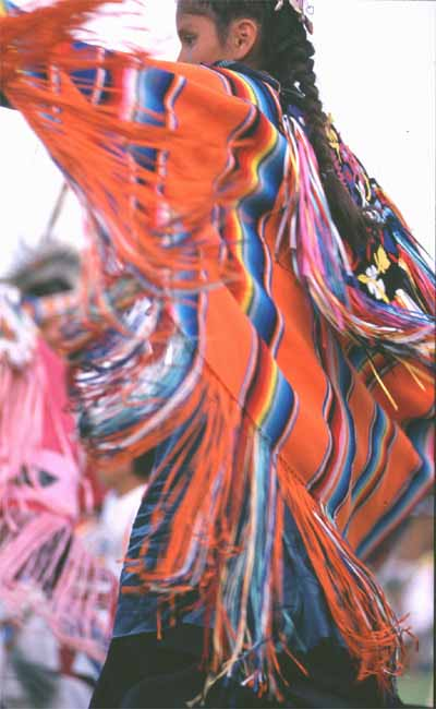 Indian woman dancing