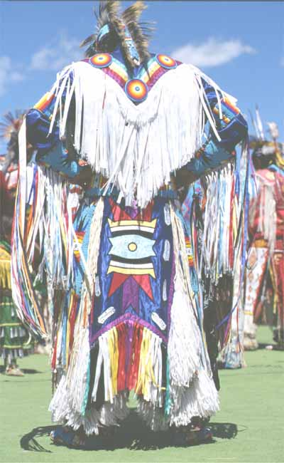 Custumed Indian & headdress