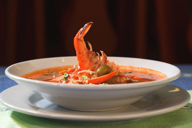 Caldo de Camaron: Shrimp soup