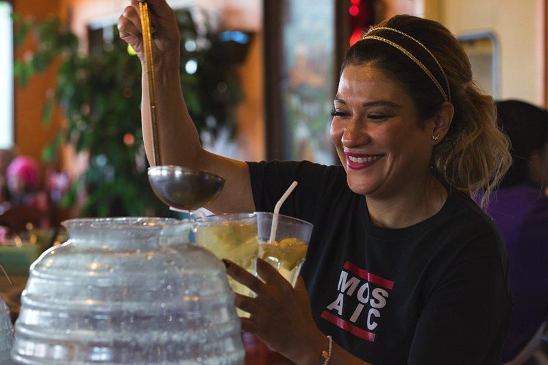 On your next visit, try Teresa's homemade lemonade squeezed fresh every morning