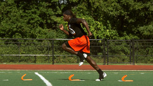 8 Drills For Speed and Acceleration with Mini Hurdles