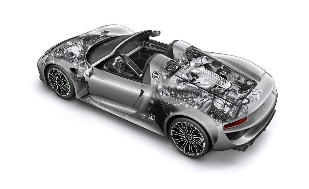 Exterior Photo Of 2017 Porsche 918 Spyder Weissach Package