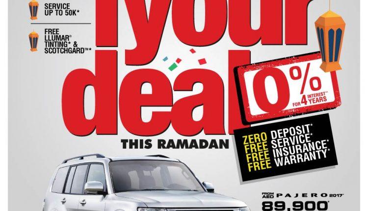 Mitsubishi Ramadan Offers 2017 in the UAE - Motoraty
