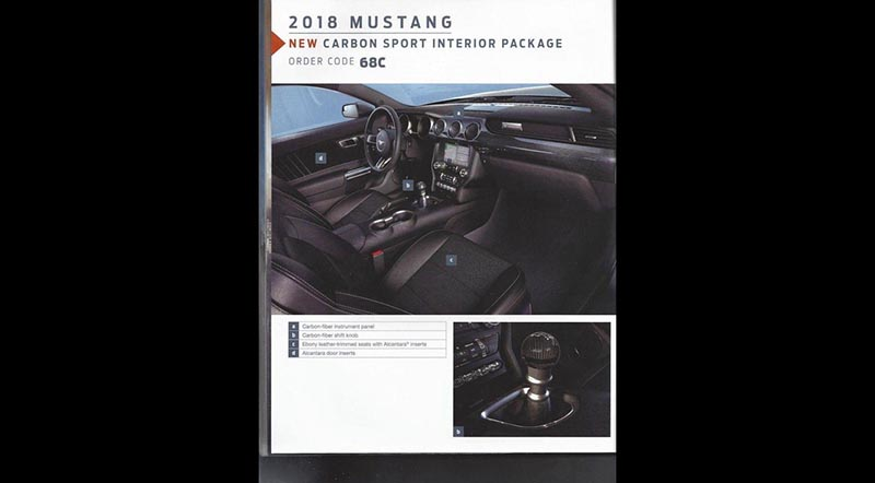 2018 Ford Mustang Order Guide 2018 2019 Ford   Upcomingcarshq.com