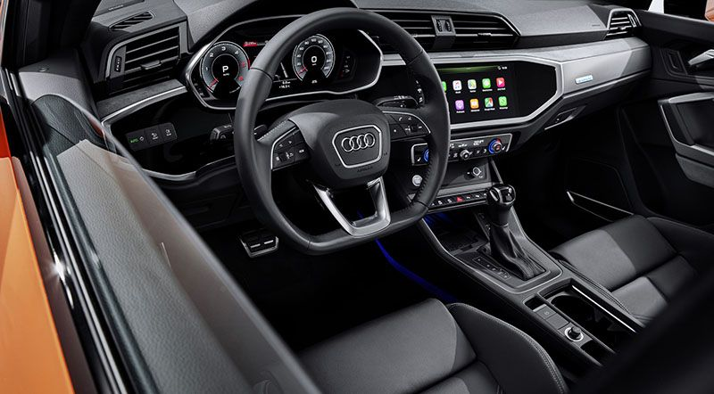 2020 audi q3 sportback comes with a sporty appearance