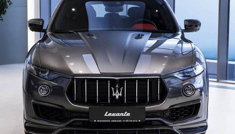 بالصور سيارة مازيراتي ليفانتي 2018