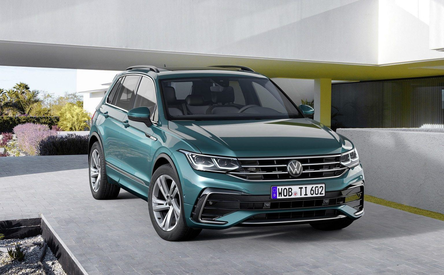 2021 VW Tiguan Performance and New Engine
