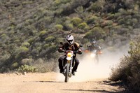 Off-road motorcycle route in South Africa
