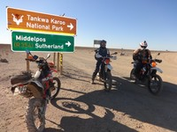 Tankwa Karoo motorcycle tour South Africa