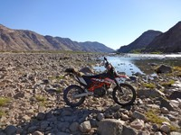Dual sport touring in South Africa