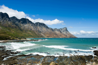 The blue waters of the cape
