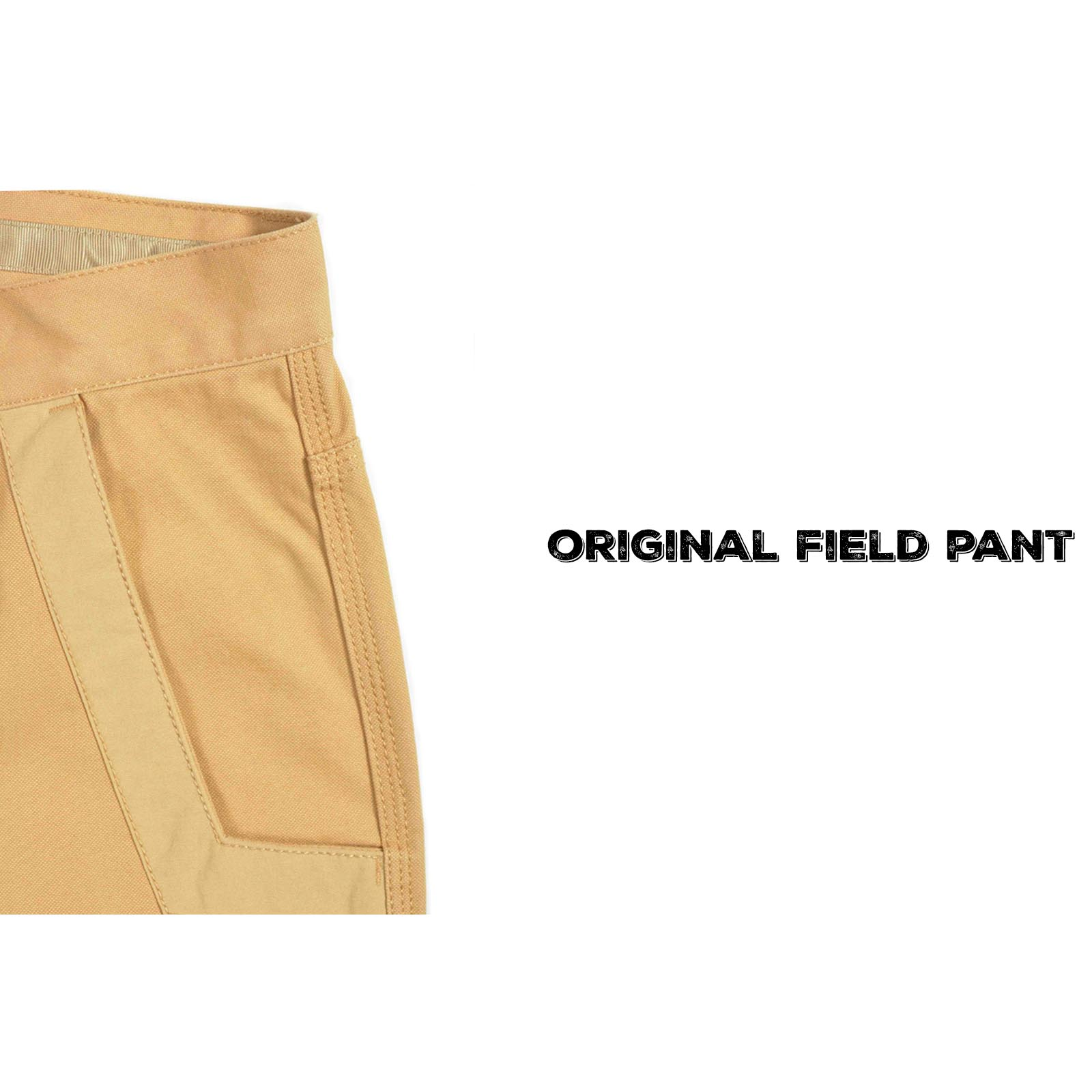 Original Field Pant Detail