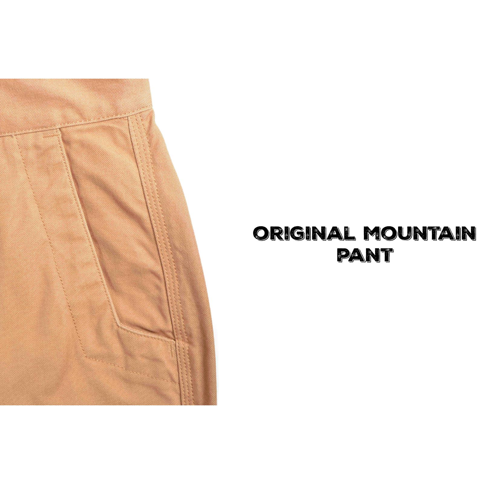 Original Mountain Pant Detail